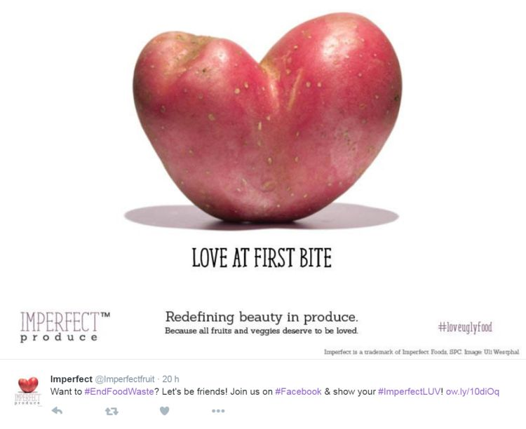 Love Ugly Food: Imperfect Produce Campaign