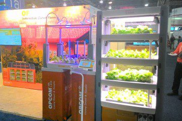 OPCOM Farm: Fully Automated Indoor Garden System