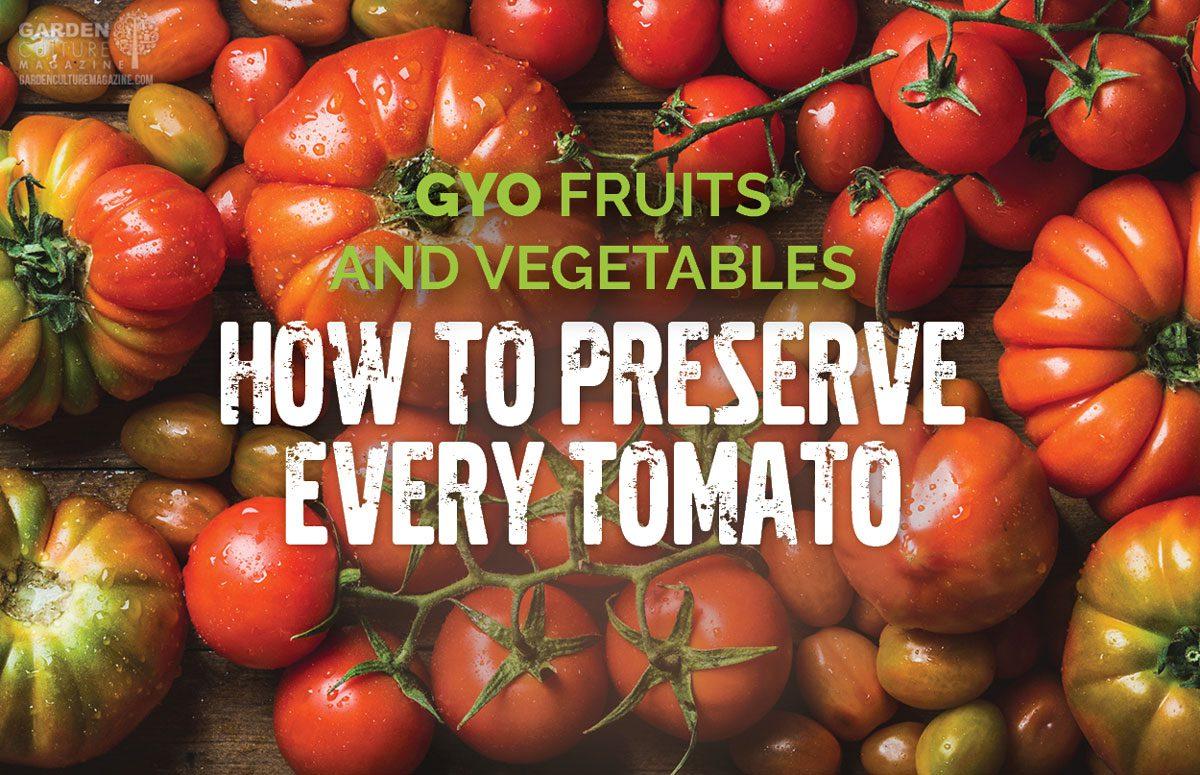 preserve every tomato